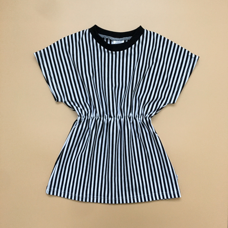 Stripes Elastic Dress