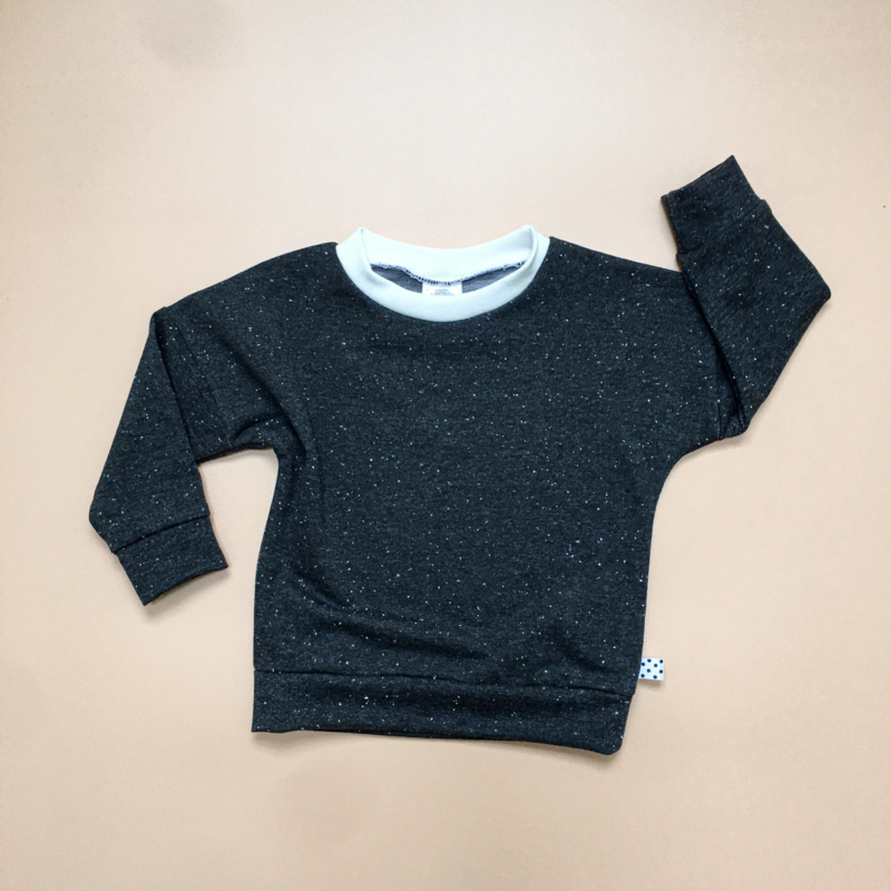 Anthracite sprinkles Sweater