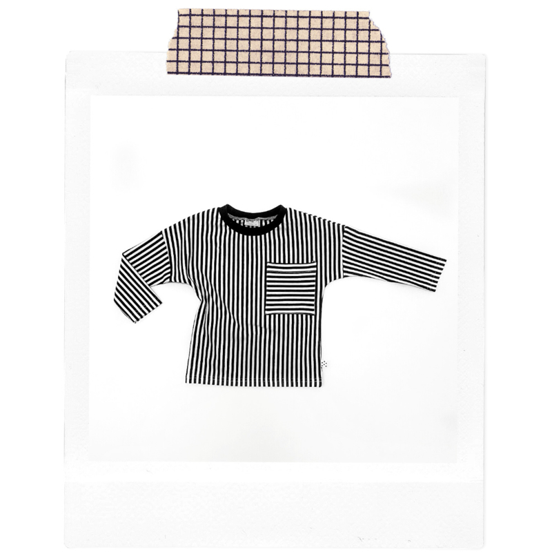 Stripes Longsleeve + striped pocket