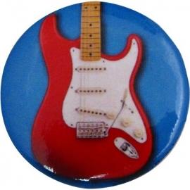 Button met elektrische gitaar