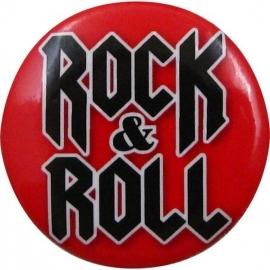 Button met tekst 'Rock & Roll'