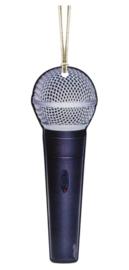 Kerstversiering microfoon 11,5 cm