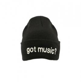 Muts met de tekst 'Got Music?'
