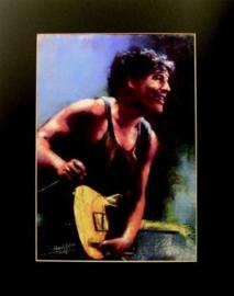 Popart poster van Bruce Springsteen