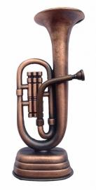 Metalen puntenslijper met tuba