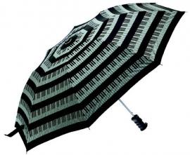 Opvouwbare paraplu met pianotoetsen