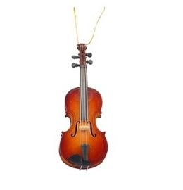 Kerstversiering viool 13 cm