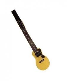 Stropdas in de vorm van een akoestische gitaar