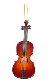 Kerstversiering cello 13 cm