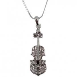 Ketting met viool