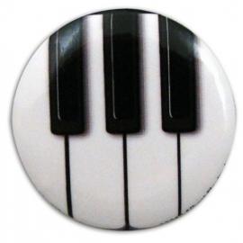 Button met pianotoetsen