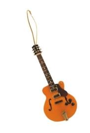 Kerstversiering Hollow Body gitaar