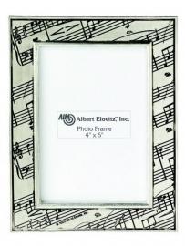Fotolijst met bladmuziek