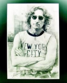 Popart poster van John Lennon