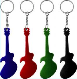 Sleutelhanger en flesopener gitaar