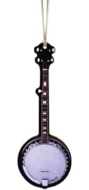Kerstversiering banjo 10 cm