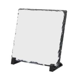Leisteen 20 x 20 cm, met persoonlijke afbeelding
