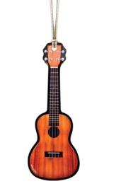Kerstversiering ukulele 11 cm