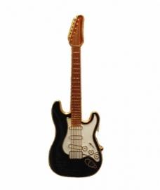 Speldje gitaar Stratocaster zwart