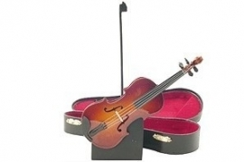 Viool met muziek