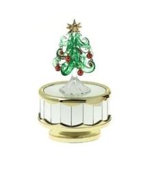 """Muziekdoos kerstboom (speelt """"Jingle Bell Rock"""")"""