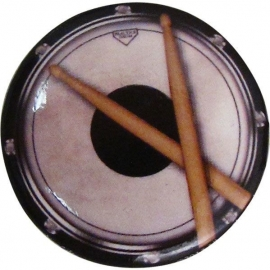 Button met drums