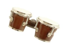 3D magneet met bruine bongo's