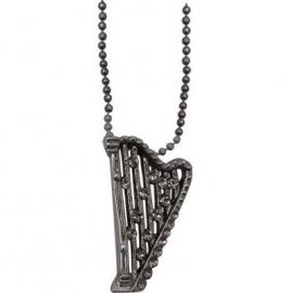 Ketting met zilveren harp
