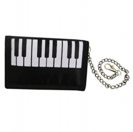 Portemonnee pianotoetsen