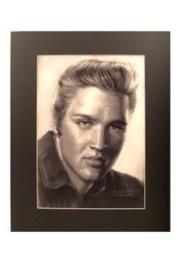 Popart poster van Elvis Presley