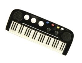 3D magneet met keyboard