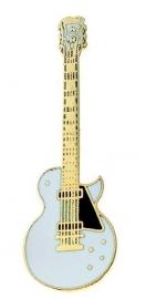 Speldje gitaar Les Paul Custom wit