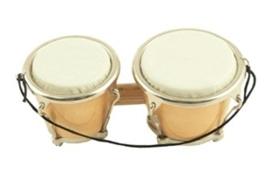 Kerstversiering bongo (naturel) 9,5 cm