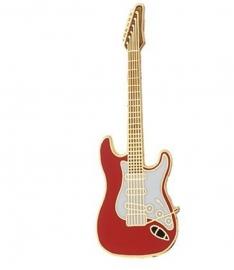 Speldje gitaar Stratocaster rood