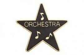 Speldje ster award Orchestra zwart