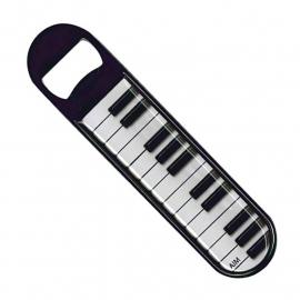 Flesopener met pianotoetsen