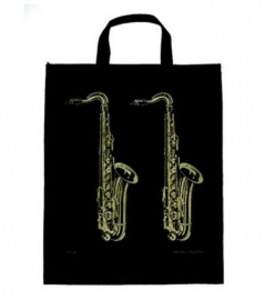XL draagtas met saxofoons