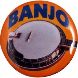 Button met banjo