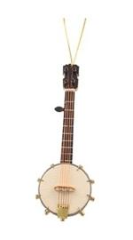Kerstversiering banjo 13 cm
