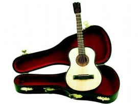 Miniatuur akoestische gitaar