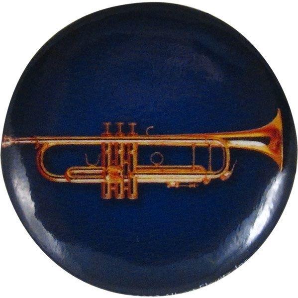 Button met trompet