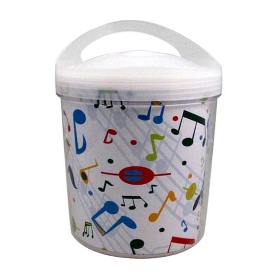 Ice Bucket met vrolijke muzieknoten