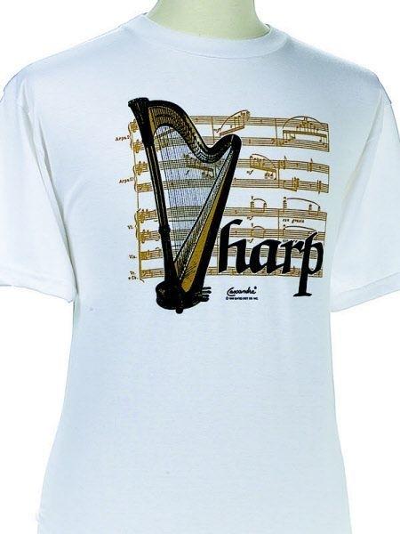 T-shirt met harp