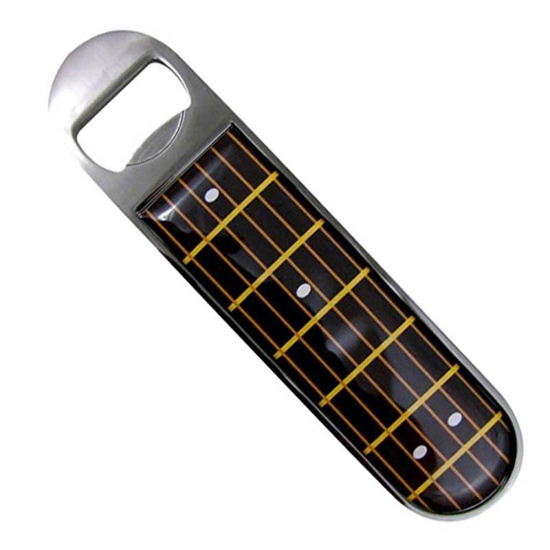 Flesopener met fretboard gitaar