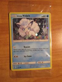 100x sealed ALOLAN VULPIX Card TOYS R US Promo