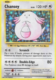 Chansey (Evolutions)