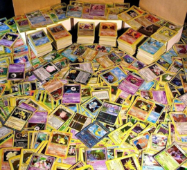 50x random pokemon card's