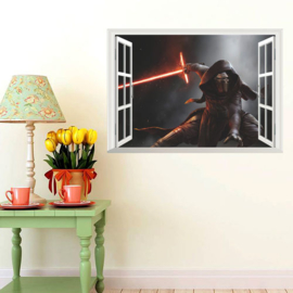 Star Wars Muursticker Kylo
