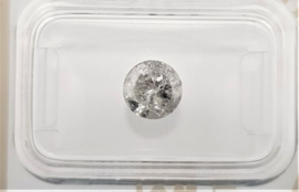 1.11 ct - Natural white diamond - E kleur - I2 - VG/VG/G
