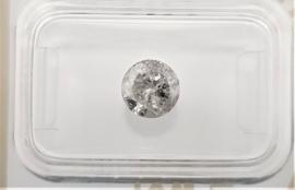 1.11 ct - Natuurlijke witte diamant - E kleur - I2 - VG/VG/G